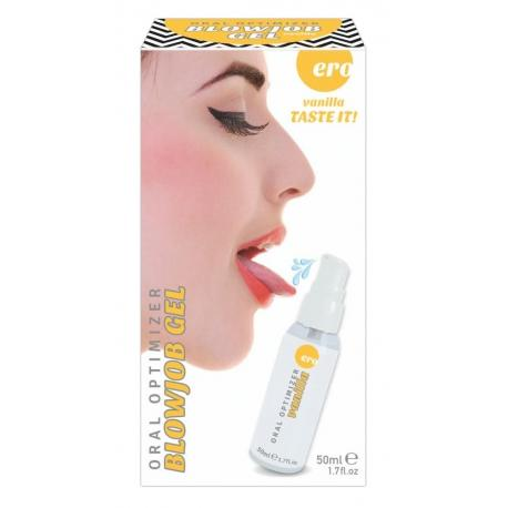 HOT Blowjob Gel Vanilka 50ml